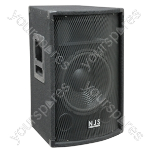 NJS Carpet Covered PA Wood Speaker Cabinet