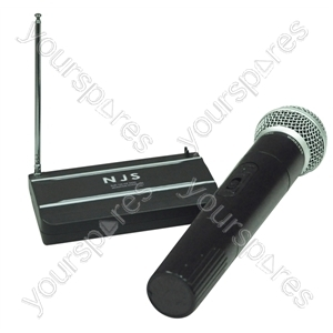 NJS VHF Handheld Radio Microphone System - Frequency MHz 175