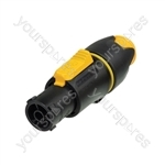 Neutrik NAC3FX-W Waterproof 16A Female Powercon True Locking Cable Connector