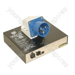 NJD DPX4/10 10 A 4 Channel DMX Dimmer Pack with IEC Output