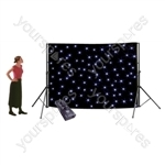 NJD Stand Mounting Star Cloth Kit (3 x 2 m) Black