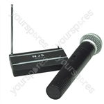 NJS VHF Handheld Radio Microphone System - Frequency MHz 174.1