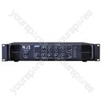 NJS PA2000 Series 100 V PA Mixer Amplifier - Power RMS (W) 60