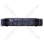NJS PA2000 Series 100 V PA Mixer Amplifier - Power RMS (W) 240