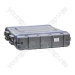 NJS ABS Rack Case - Rack Size 2U