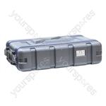 NJS Short ABS Rack Case - Rack Size 2U