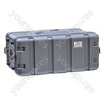 NJS Short ABS Rack Case - Rack Size 4U
