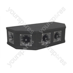 Soundlab 50W Black Piezo Top Box