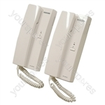 Eagle White 6 VDC 2 Way System Intercom
