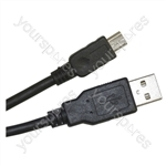 USB Male A to USB Mini B Lead - Length (m) 2