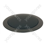 Eagle 100 V Line Compact Flush Fit Ceiling Speaker - Colour Black