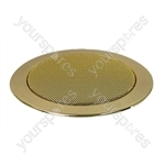 Eagle 100 V Line Compact Flush Fit Ceiling Speaker - Colour Gold