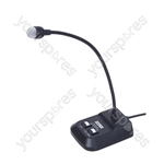 Eagle Professional Dynamic Paging Microphone - Connector 6.35mm jack
