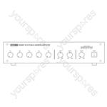 Eagle PA6000 Series 100 V Line Mixer Amplifier - Power RMS (W) 60