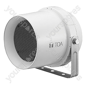 TOA CS64 100 V Line Weatherproof Outdoor Speaker 6W