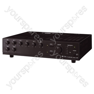 TOA A1800 Series 100 V Line Amplifiers - Power RMS (W) 60