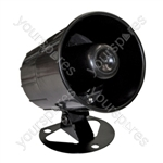 "High Powered 6 Tone Round 4"" Electronic Siren"