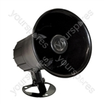 "High Powered 6 Tone Round 6"" Electronic Siren"