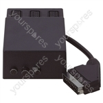 Electrovision Scart Switch Box with 0.5 m Lead - Number of Scart Sockets 3
