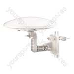 Omni-Directional Digital & DAB Outdoor Aerial with Amplifier