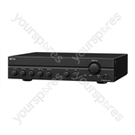 TOA A2000 Series 100 V Line Amplifiers - Power RMS (W) 240