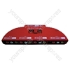 Red 4 Way Phono Selector Switch