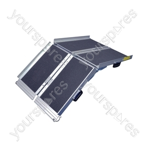 Folding Suitcase Ramp - Length (Collapsed) (mm) 630