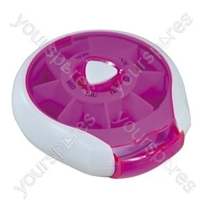 Compact Weekday Pill Dispenser