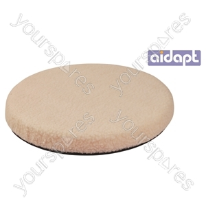 Revolving Swivel Seat with Fleece Cover