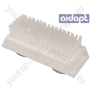 Aidapt Nail Brush with Suction Pads