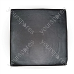 Vinyl Cushion for Wheelchairs - Size 76x457x406 mm (3x18x16 inches)