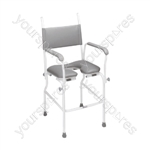 Aquamaster (A02) Static Shower Commode Chair