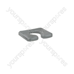 Transaqua Shower Commode Replacement Horseshoe Seat