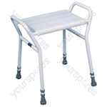 Strood Shower Stool with Anti-Scratch Finish