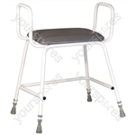 Torbay Bariatric Perching Stool - Arms Yes
