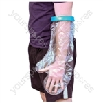 Aidapt Waterproof Cast and Bandage Protector for use whilst Showering/Bathing - Configuration Adult Short Arm