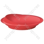 Scoop Plate - Colour Red