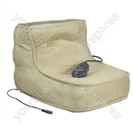 Aidapt Electric Dual Speed Soft Massaging Foot Boot with Heat