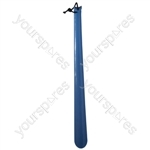 Plastic Shoehorn - Colour Blue