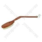 Long-Handled Wooden Bath Brush