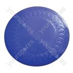 Tenura Silicone Rubber Anti Slip Circular Mat/Coaster 14 cm - Colour Blue