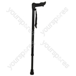 Ergonomic Handled Walking Stick - Configuration Left Handed