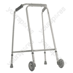 Lightweight Walking Frame for Home Use - Configuration With Wheels