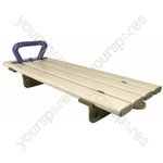 Medina Plastic Bath Board - Configuration With Handle