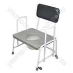 Dorset Devon and Suffolk Bariatric Commodes - Configuration Fixed Arms