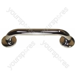 "Brushed Stainless Steel Grab Bar - Size Length: 450 mm (18"")"