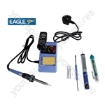 Eagle 48W Adjustable Temperature Controlled Soldering Station Kit