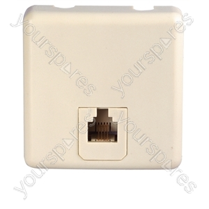 White Modular Junction Box