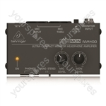 Eurocom MA4008 100V Line and 4 Ohm Mixer Amplifier 80 W