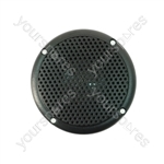 "3"" Black 100V Line Waterproof Ceiling speaker 6W"